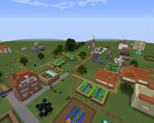 Minecraft Village Garden what's new | garden city collection