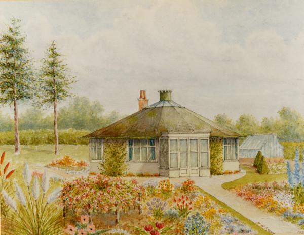 image LBM188 round house painting