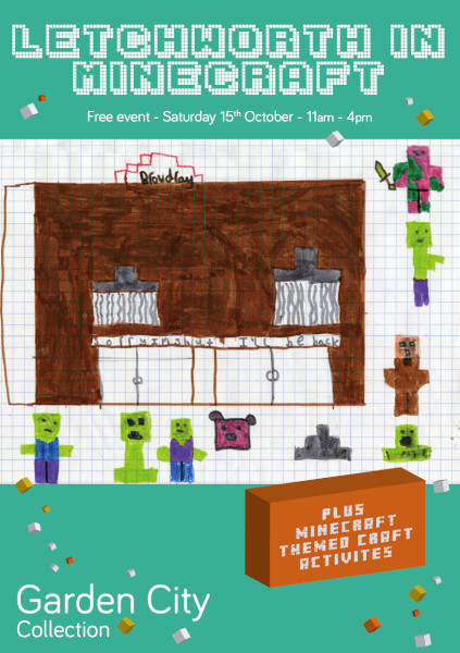 Minecraft Flyer front (ID 42808)